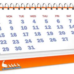 Kalendáře pro rok 2020 za zvýhodněnou cenu